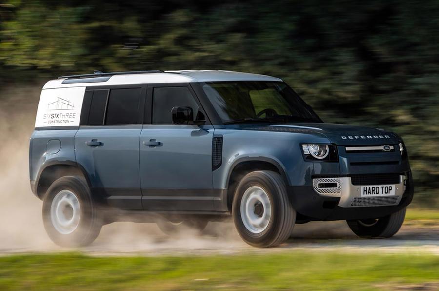Land Rover Ra Mắt Defender Phiên bản thương mại 90 và 110