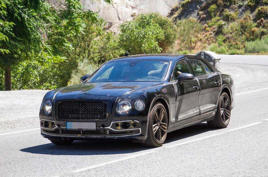 Xe Bentley Flying Spur plug-in hybrid