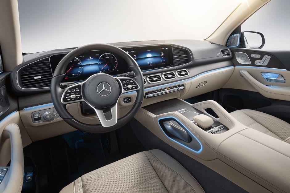 Gia Xe 7 Chỗ Mercedes GLS 2020