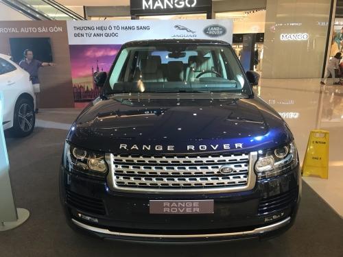 Giá Xe Range Rover HSE 3.0 Supercharged Nhập Khẩu Màu Xanh
