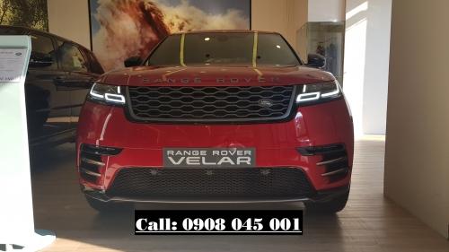 Xe Range Rover Velar 2.0 Màu Đỏ 2021 Mới Nhất Giá Bao Nhiêu