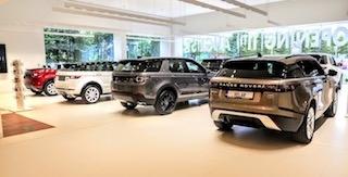 Showroom Land Rover Jaguar Đường Nguyễn Lương Bằng Quận 7
