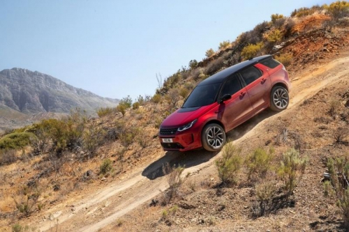 Land Rover New Discovery SPort Bản Facelift