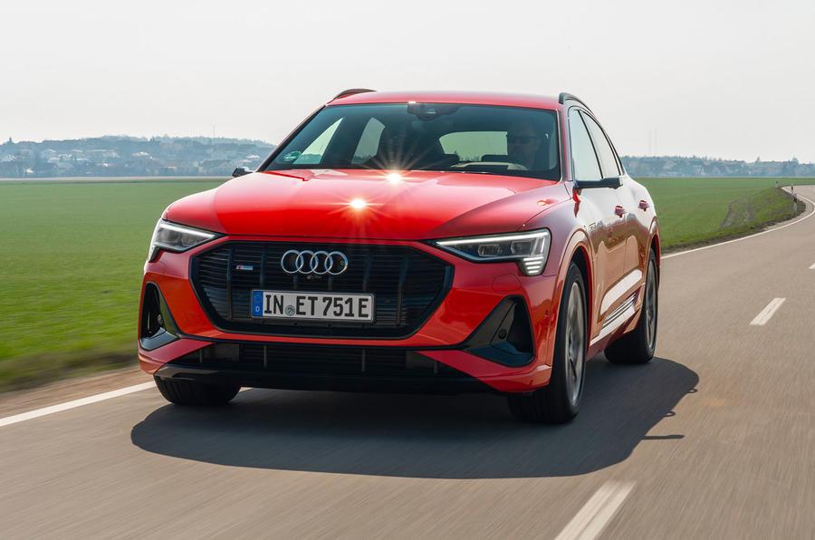 Xe Audi E-tron Sportback 55 Động Cơ Điện Bao Nhiêu | Đánh Giá
