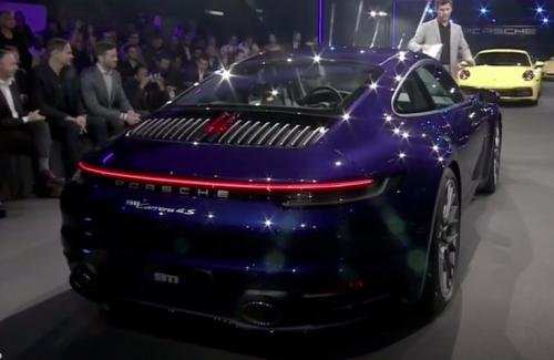 Hôm nay hãng Xe hơi thể thao Đức là Porsche chính thức ra mắt mẫu Coupe 911 thế hệ mới model 2019