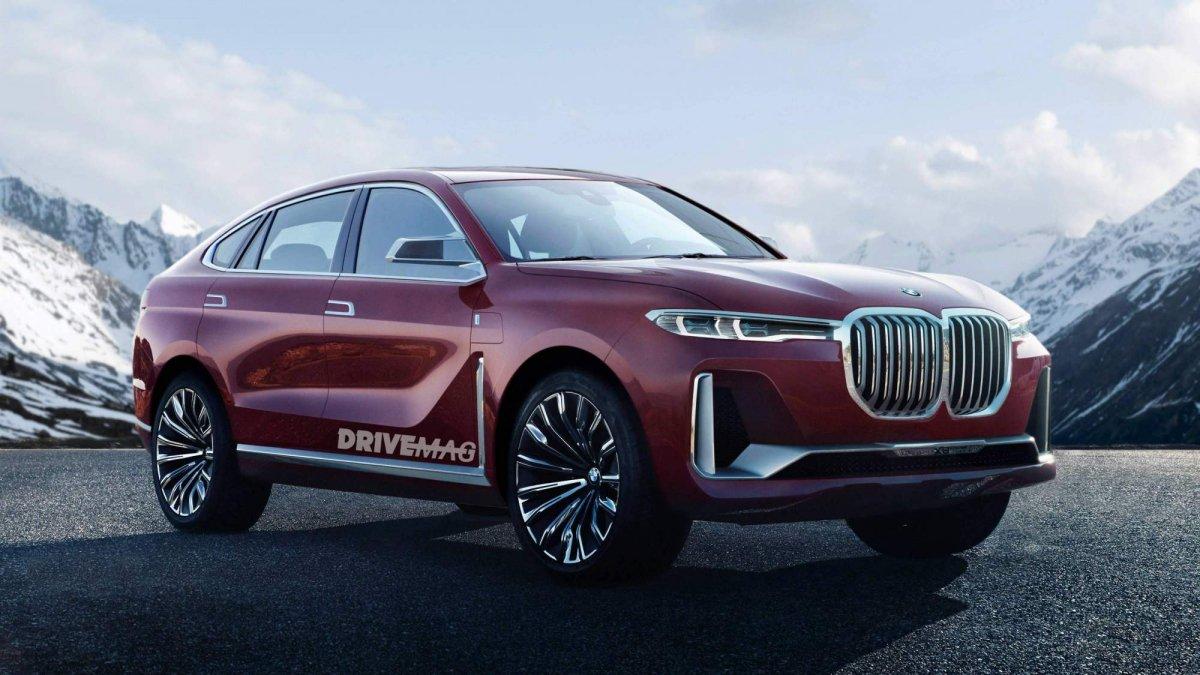 Mẫu Coupe BMW X8 Ra Mắt Năm Sau Khi X7 Chính Thức Được Bán Ra