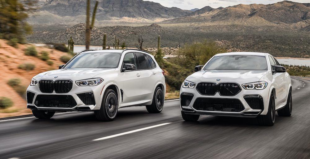 BMW X5M Và X6M Khác Gì X5 X6 M Competition, Thông Số Kỹ Thuật
