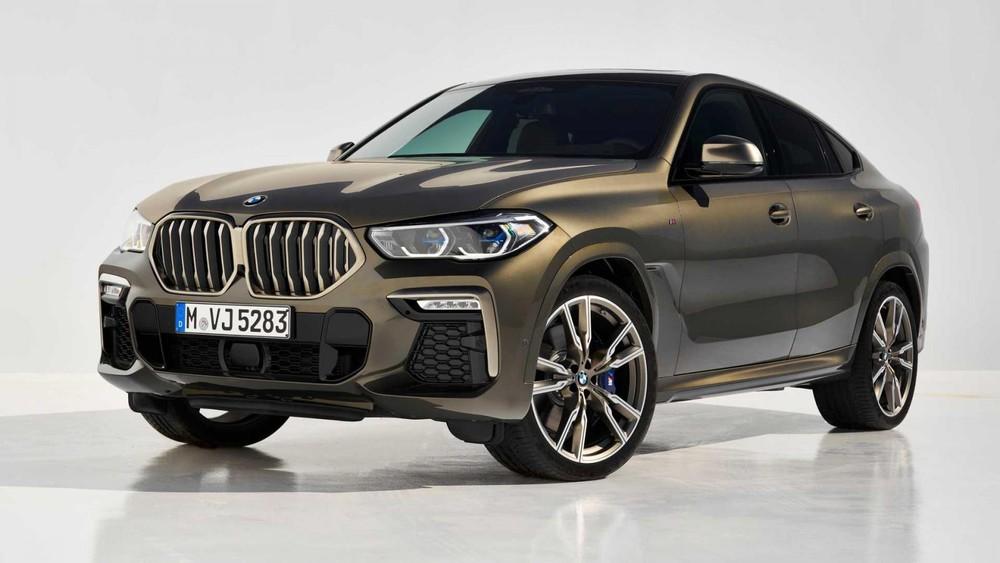 5 Chỗ BMW X6 3.0L Đời 2020 Tại Việt Nam Giá Bán 4,7 Tỷ Có Gì Mới