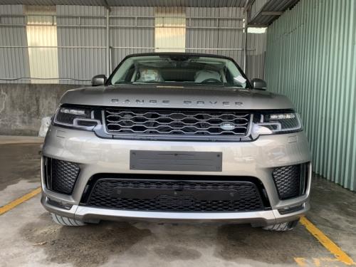Hình Xe Range Rover Sport HSE Dynamic Màu Bạc Silicon Silver 5+2 Nhập Khẩu Đời 2019 Tại Việt Nam Chi Tiết
