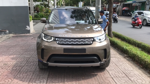 Giá Xe Range Rover 7 Chỗ Discovery Bản Cao Cấp HSE Luxury Màu Nâu