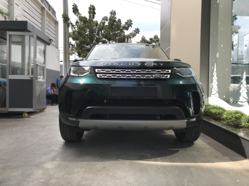 Đánh Giá Xe 7 Chỗ Land Rover Discovery HSE Luxury Cao Cấp Màu Xanh Rêu Aintree Green