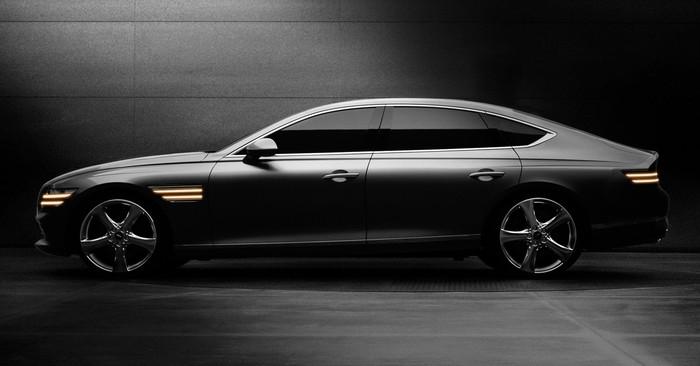 Xe GENESIS G80 Sedan Cao Cấp 2021 Mới Ra Mắt Giá Bao Nhiêu