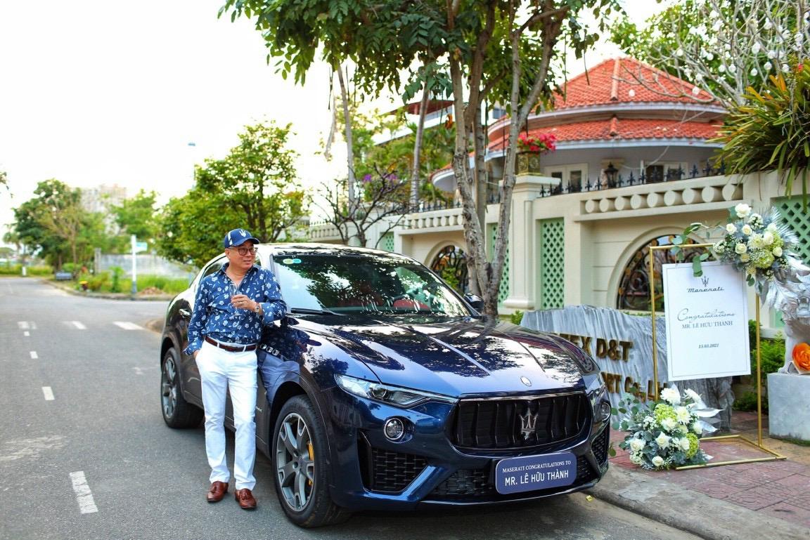 Maserati Việt Nam Giao Xe Levante Phiên Bản Gransport Màu Xanh Tại Đà Nẵng