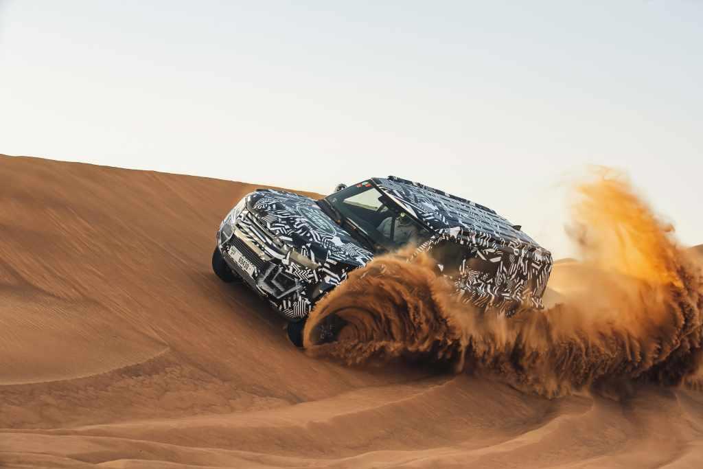 Land Rover Defender Hoàn Toàn Mới Sẽ Là Chiến Binh Địa Hình Số 1 Toàn Cầu