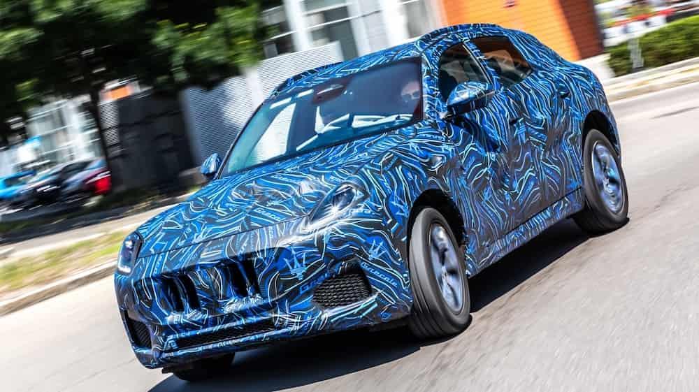 Grecale Mẫu SUV Cỡ Nhỏ 5 Chỗ Hoàn Toàn Mới Đàn Em Maserati Levante