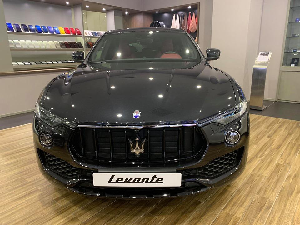 Maserati SUV Levante Gầm Cao 5 Chỗ Tại Sài Gòn Giá Bao Nhiêu
