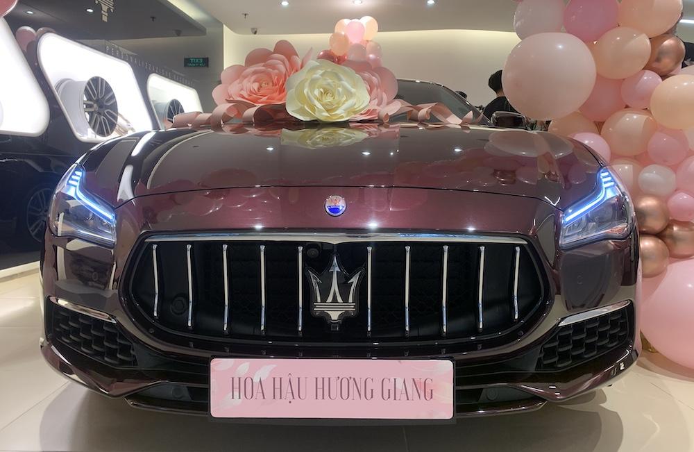 Maserati Của Hương Giang Idol Chọn Maserati Quattroporte GranLusso Làm Bạn Đồng Hành