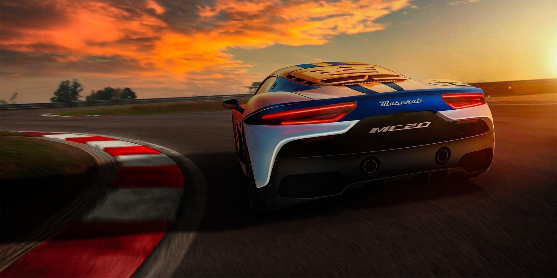 Đuôi Xe Maserati MC20 Model 2020