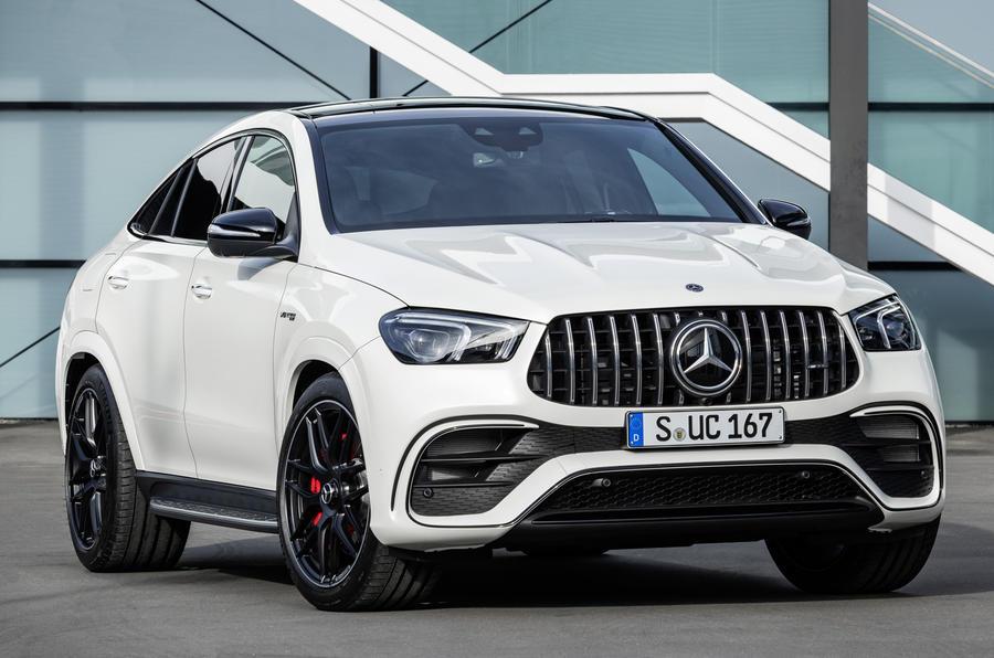 Giá Xe Mercedes GLE Coupe Đời 2022 Hoàn Toàn Mới Màu Trắng Bao Nhiêu