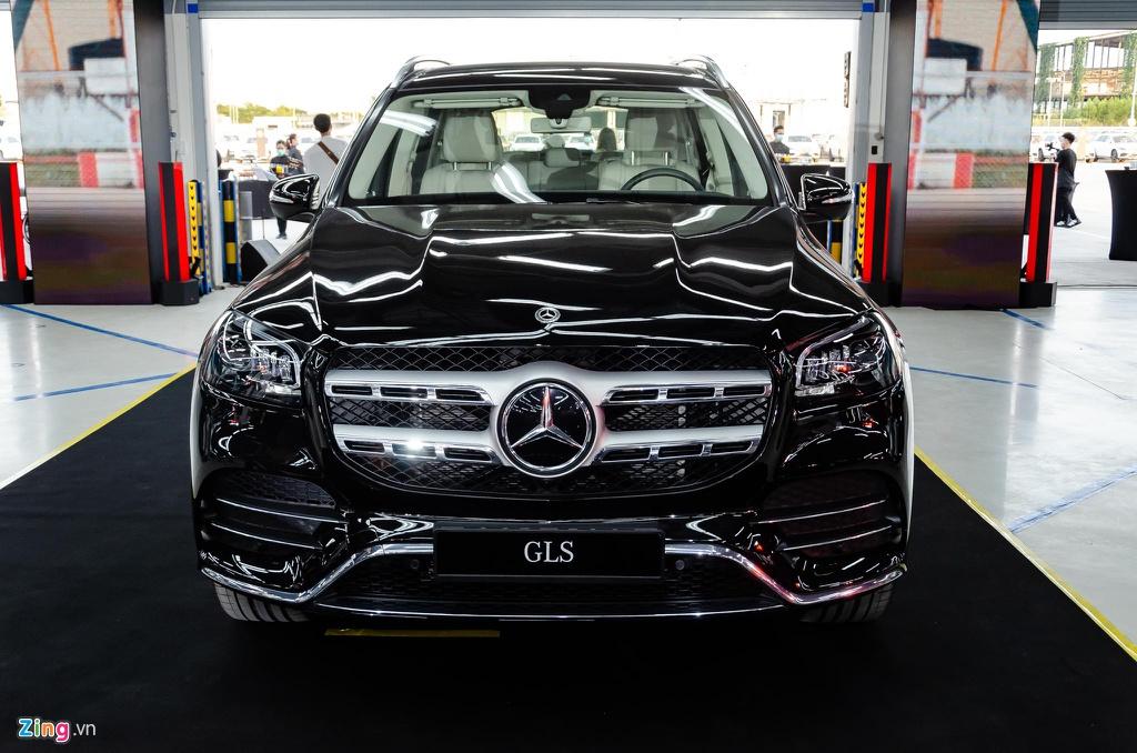 Mercedes GLS 450 4MATIC 2020 nhập Mỹ về Việt Nam, giá 4,9 tỷ Có Gì Hơn BMW X7 40i cua thaco nhập về 7,5 tỷ, Kích thước của 2 xe hơn kém nhau như thế nào, option chiêc nào nhiều hơn, xe nào sang hơn