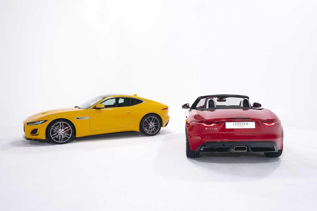 màu sắc của xe jaguar f-type 2021 rất đa dạng