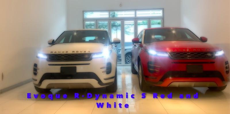 Xe Range Rover Evoque 2020 Đỏ và Trắng Màu Nào Đẹp