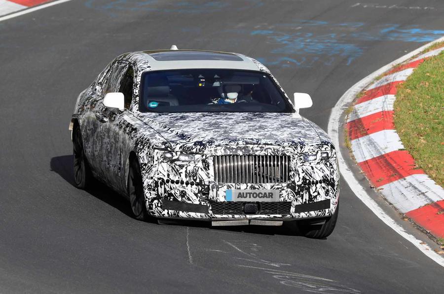 Xe Rolls-Royce Ghost Phiên Bản Hoàn Toàn Mới 2020 Lộ Diện