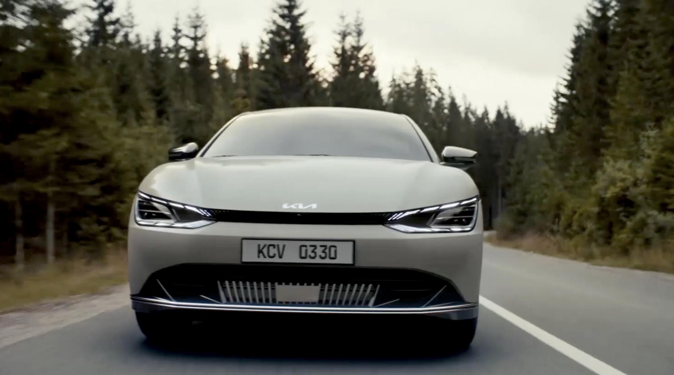 Kia tiết lộ triết lý thiết kế mới và hình ảnh đầy đủ của EV6