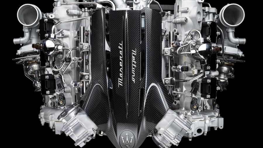 Xe Maserati 2 Cửa MC20 Sẽ Có Động Cơ 3.0 Mạnh Nhất Của Ý 621 Mã Lực, Động cơ mới twin turbo 6 xy lanh này có phải của ferrari làm nữa hay do chính nhà máy Maserati làm