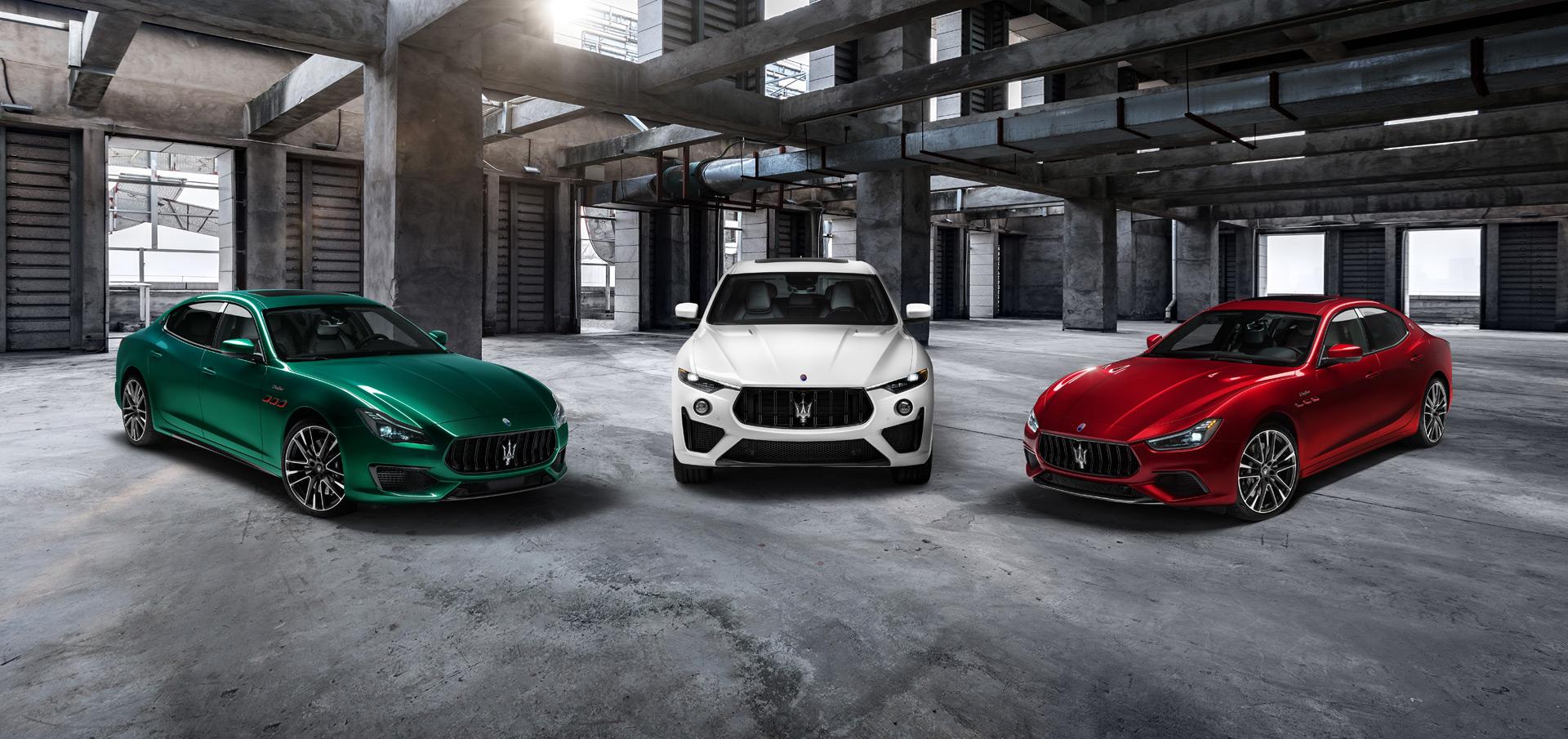Trofeo: Bộ sưu tập các mẫu xe mạnh nhất của Maserati