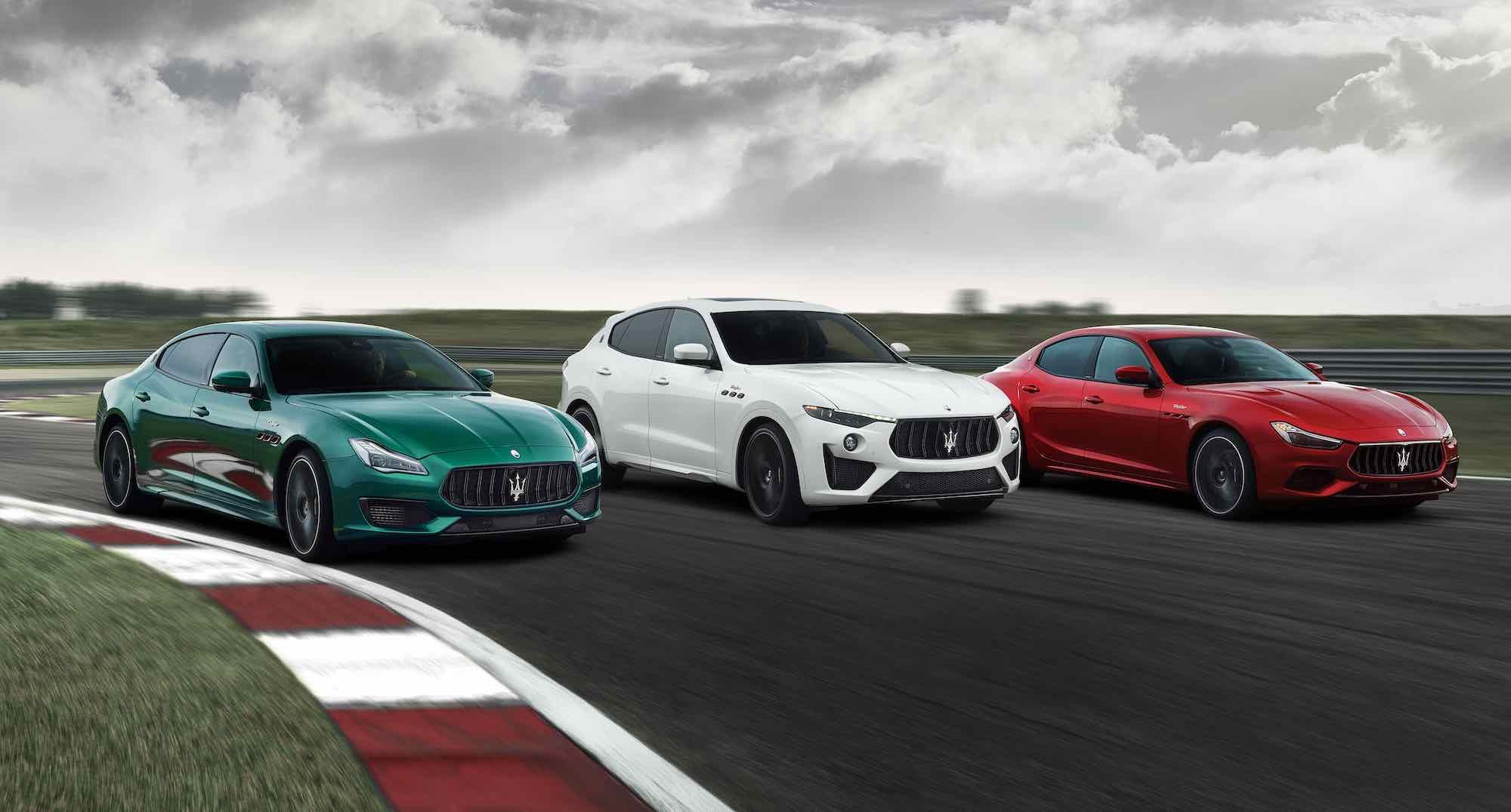 Xe Maserati Trofeo Ghibli, Levante, Quattroporte  Động cơ V8 Giá bao nhiêu