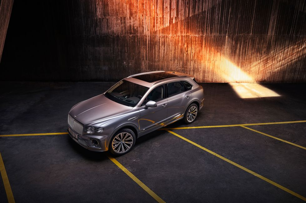 2021 Bentley Bentayga SUV.