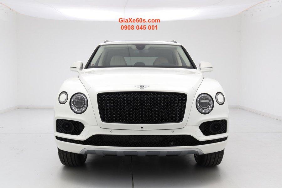 xe bentley màu trắng