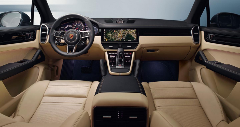 Nội thất mẫu coupe cayenne thế hệ mới ra mắt
