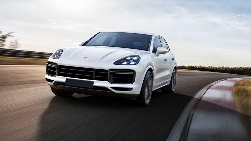 Đánh Giá Xe Oto Porsche Cayenne Turbo S E Hybrid  2020 Màu Trắng