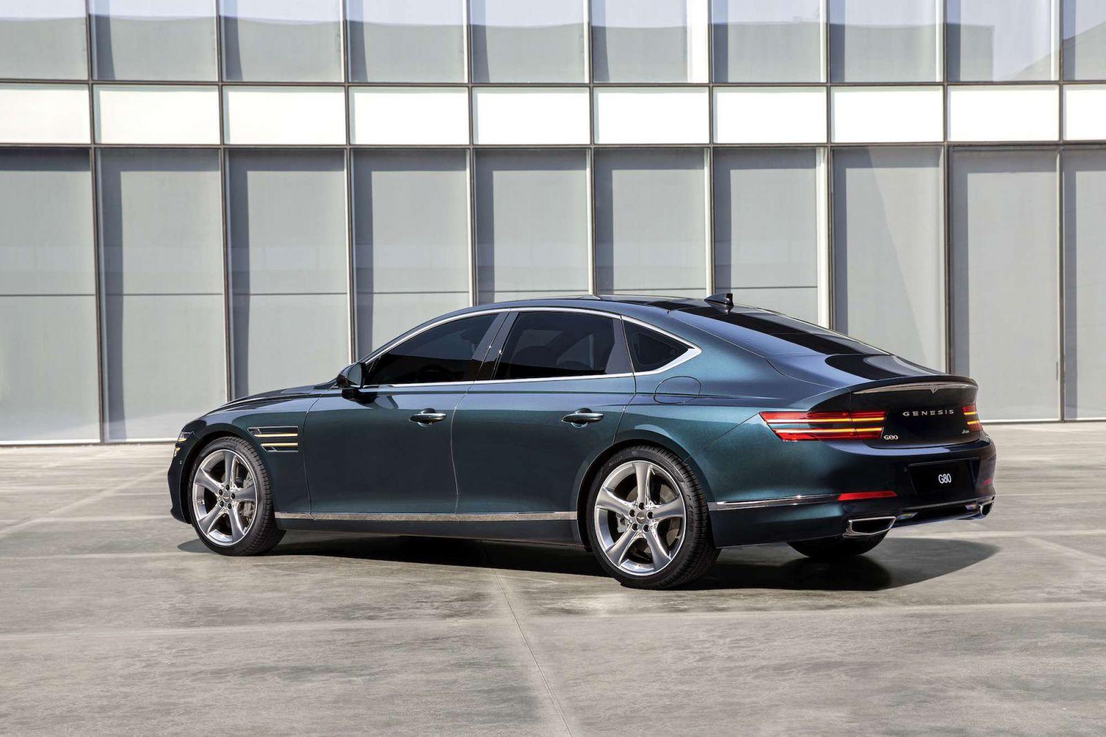 Genesis G80 2021 Dòng Xe Cao Cấp Của Hyundai Có Mấy Phiên Bản, Mẫu 4 chỗ hạng sang ra mắt chính thức có cả động cơ xăng và dầu, sẽ được giành cho thị trường mỹ và hàn quốc là chính, Vietnam chưa có th
