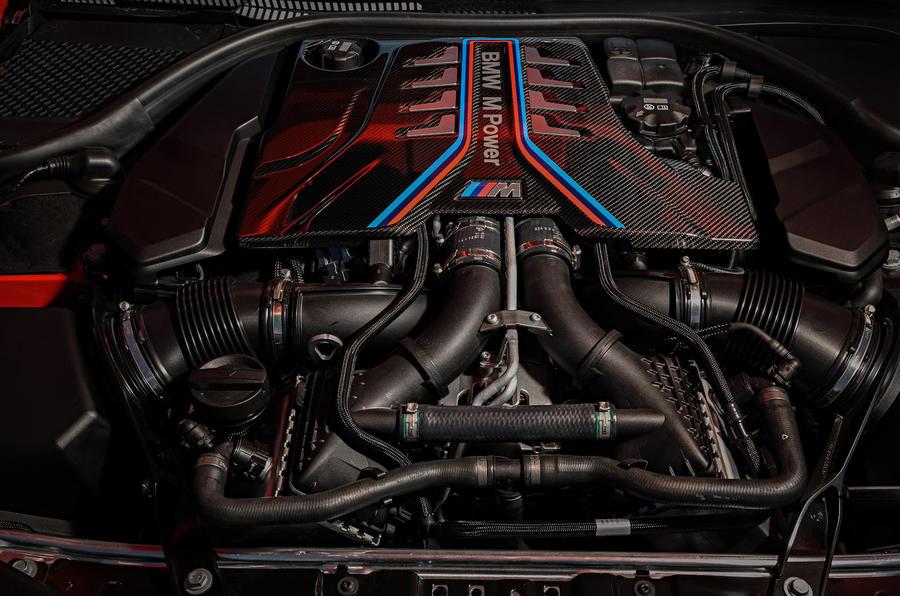 Chiếc Sedan BMW M8 Gran Coupe 4 Cửa đối thủ của Porsche Panamera.