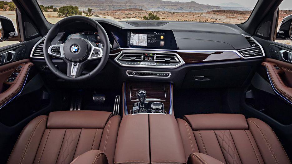 BMW X6 có thiết kế nội thất hoàn toàn giống các mẫu X5, X4, X3 và X7
