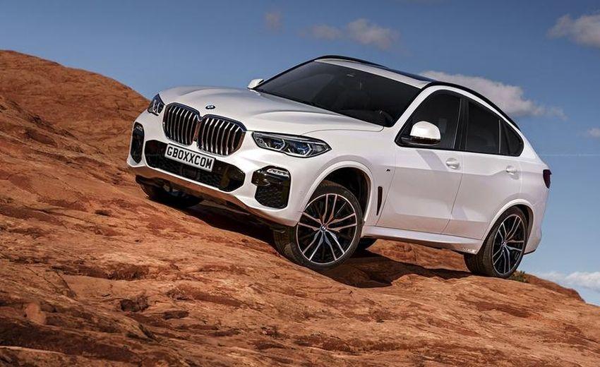 Mẫu Coupe BMW X6 Phiên Bản Mới Ra Mắt Việt Nam Khi Nào 2019 Hay 2020, Có mấy phiên bản cho mẫu X6 đời mới model 2019 này, Xdriver 30i, 35i, 50i, 40i, mx6