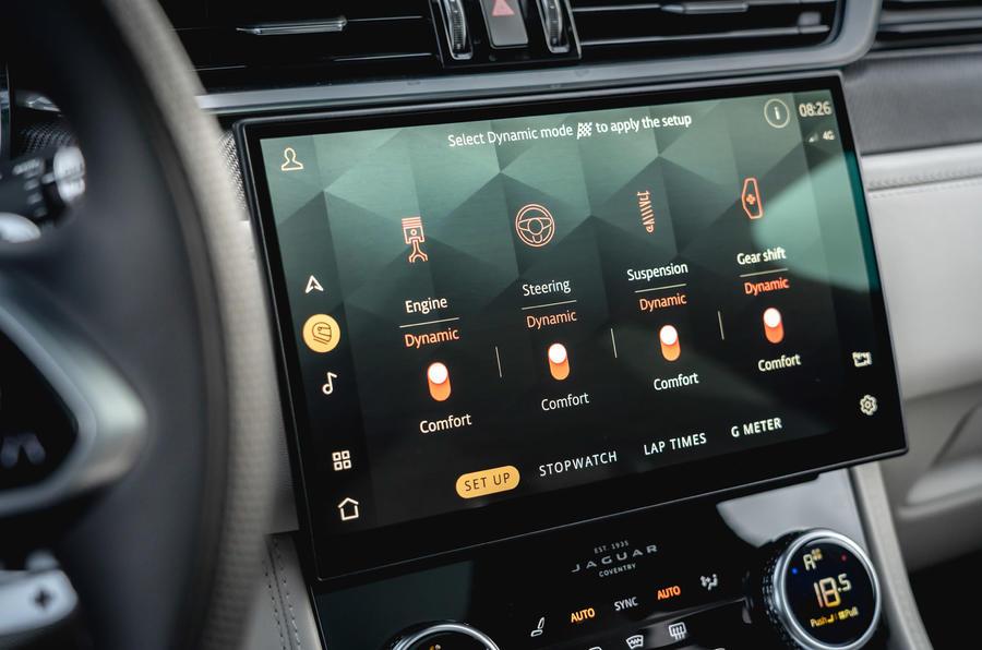 Đánh Giá Xe Jaguar F-Pace SUV 5.0 V8 SVR 2021