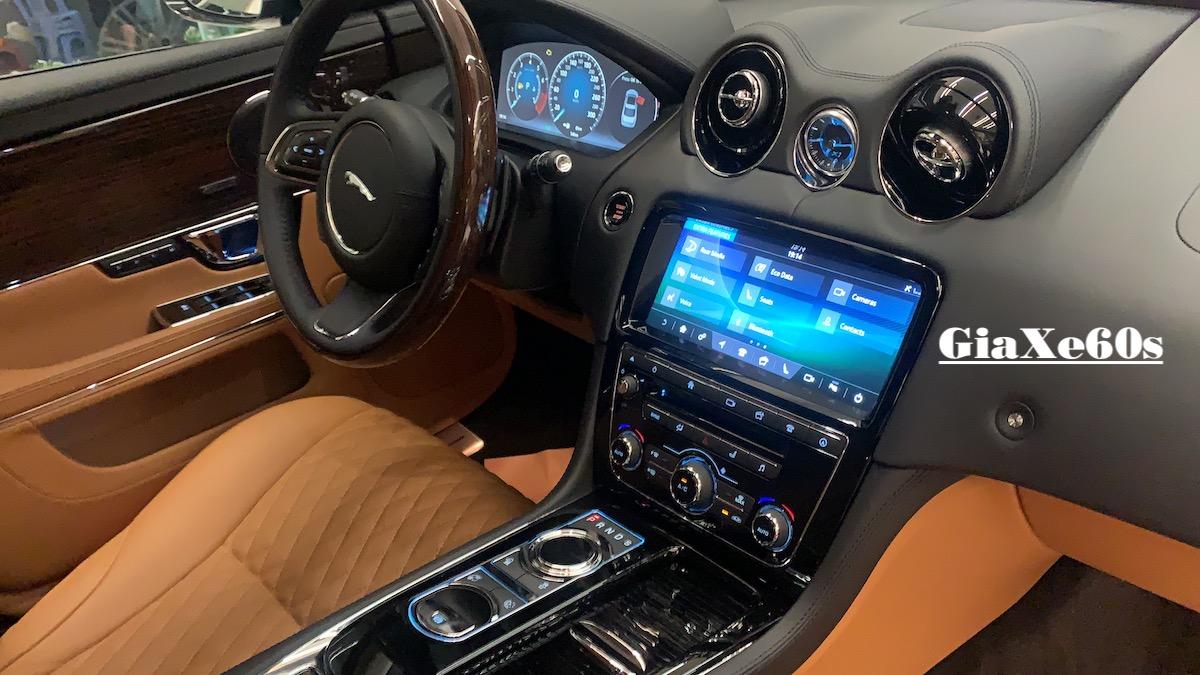 nội thất xe jaguar xjl màu da bò sang trọng và rất cao cấp dược làm bằng thủ công