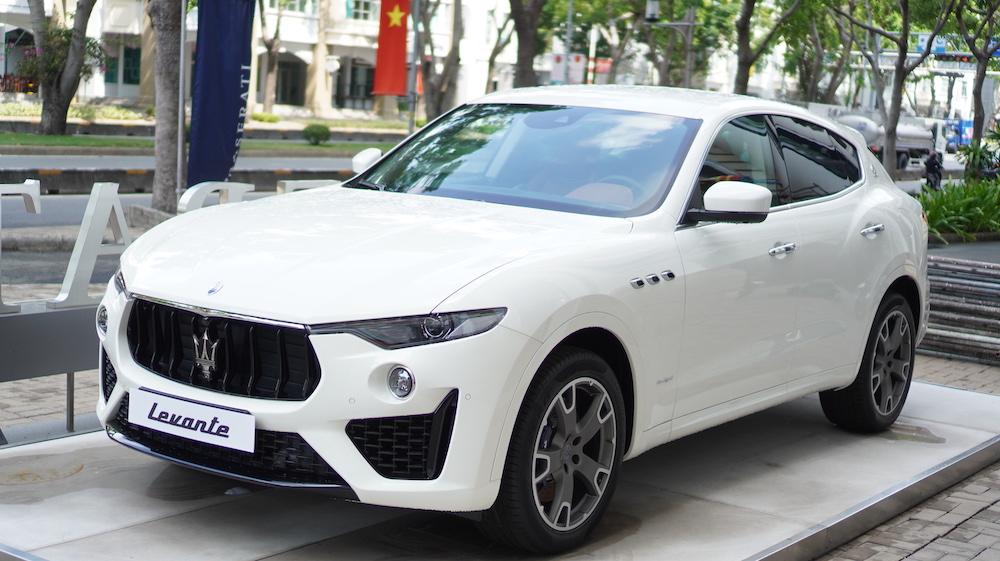 MASERATI LEVANTE Màu trắng – SUV HẠNG SANG ĐẬM CHẤT THỂ THAO TỪ ITALY.