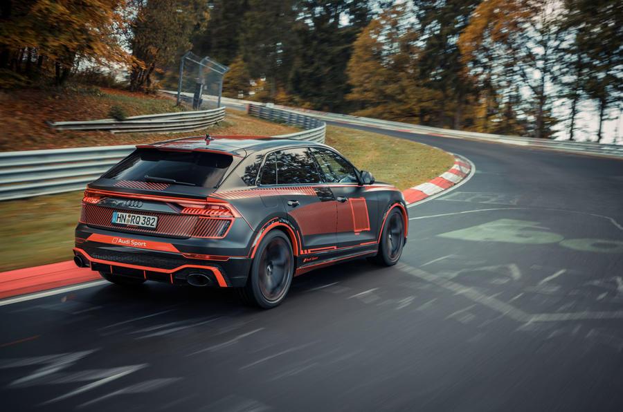 Audi Q8 Phiên Bản RS 595 Mã Lực Đối Thủ BMW X6 M50i Có Gì Đặc Biệt, Audi SUV COupe Q8 Phiên Bản 2020 Tiêu Chuẩn Giá 4,5 Tỷ, Bản SPort này sẽ có giá bao nhiêu khi ra mắt toàn cầu năm nay