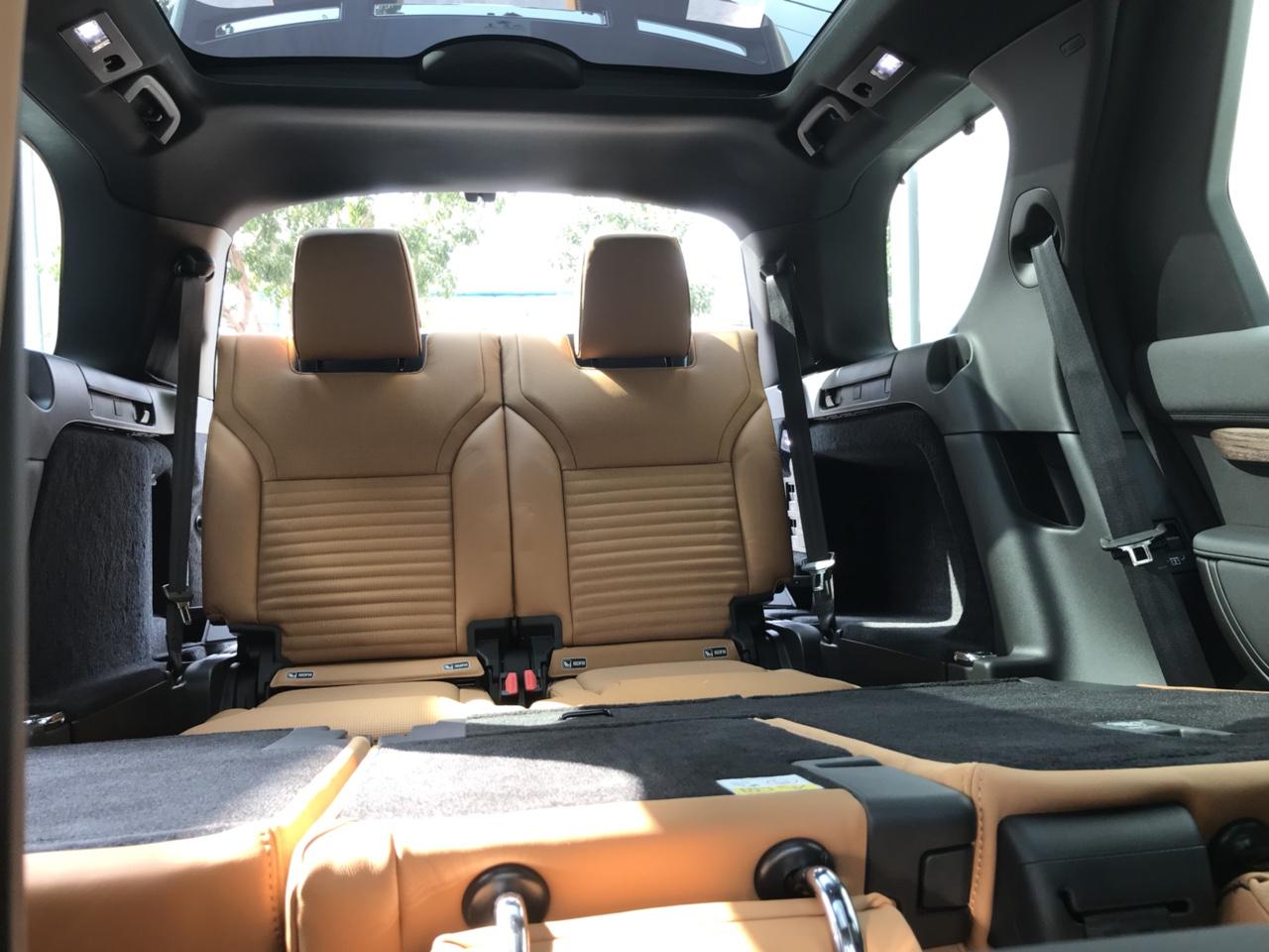 Đánh Giá Xe 7 Chỗ Land Rover Discovery HSE Luxury Cao Cấp Màu Xanh Rêu Aintree Green 2018, Xe Range Rover 7 Chỗ thế hệ mới model 2019 có gì khác model này, xe chạy có hao xăng không, xe nhập từ nước nào.