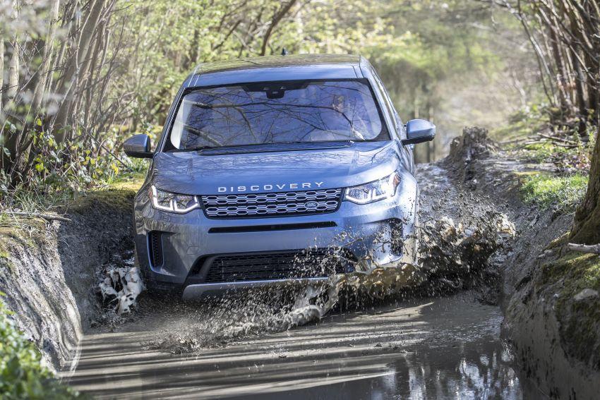 Land rover discovery sport 2020 có khả năng lội nước đến 600mm