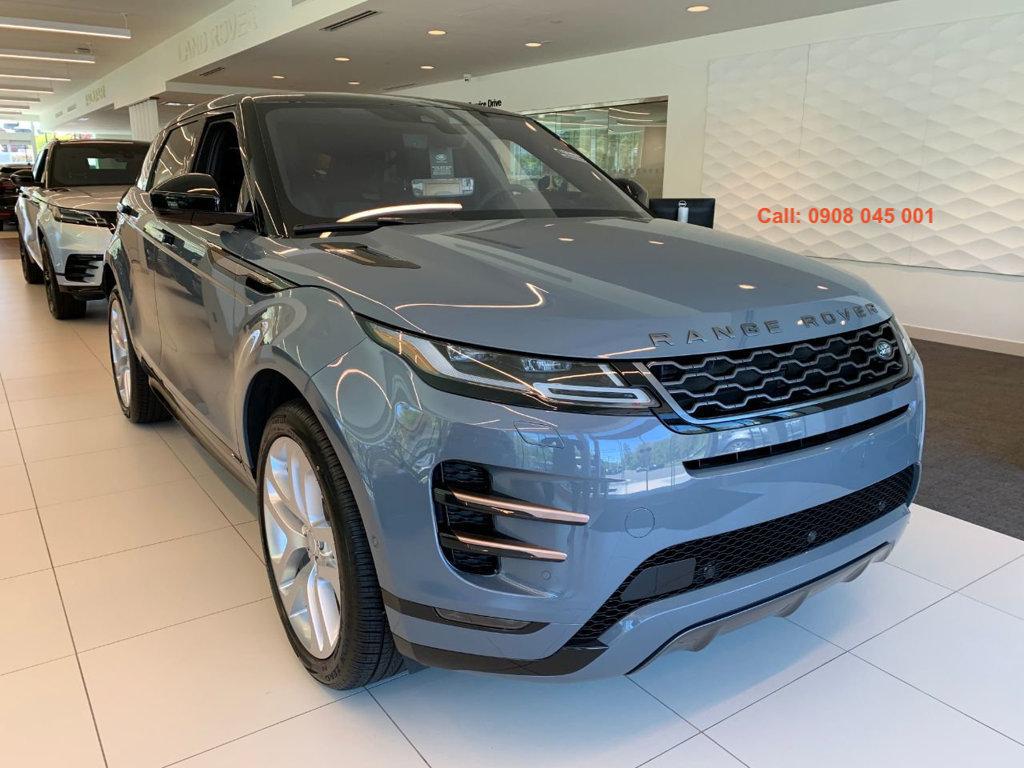range rover evoque đời 2020 phiên bản first edition màu xanh xám