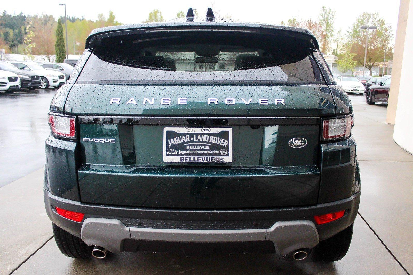Xe SUV Đời Mới Range Rover Evoque 2018 - 2019 Màu Xanh Rêu