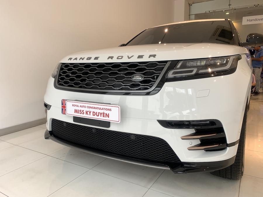 Xe Range Rover Velar Của Hoa Hậu Kỳ Duyên Giá Bao Nhiêu Tiền, Hoa Hậu Miss Kỳ Duyên có gia bán tại hãng Land Rover là 5,599 triệu đồng, Xe Nhập khẩu chính hãng từ Anh Quốc, Auto hoàng gia sai gon đại diện chính hãng tại việt nam