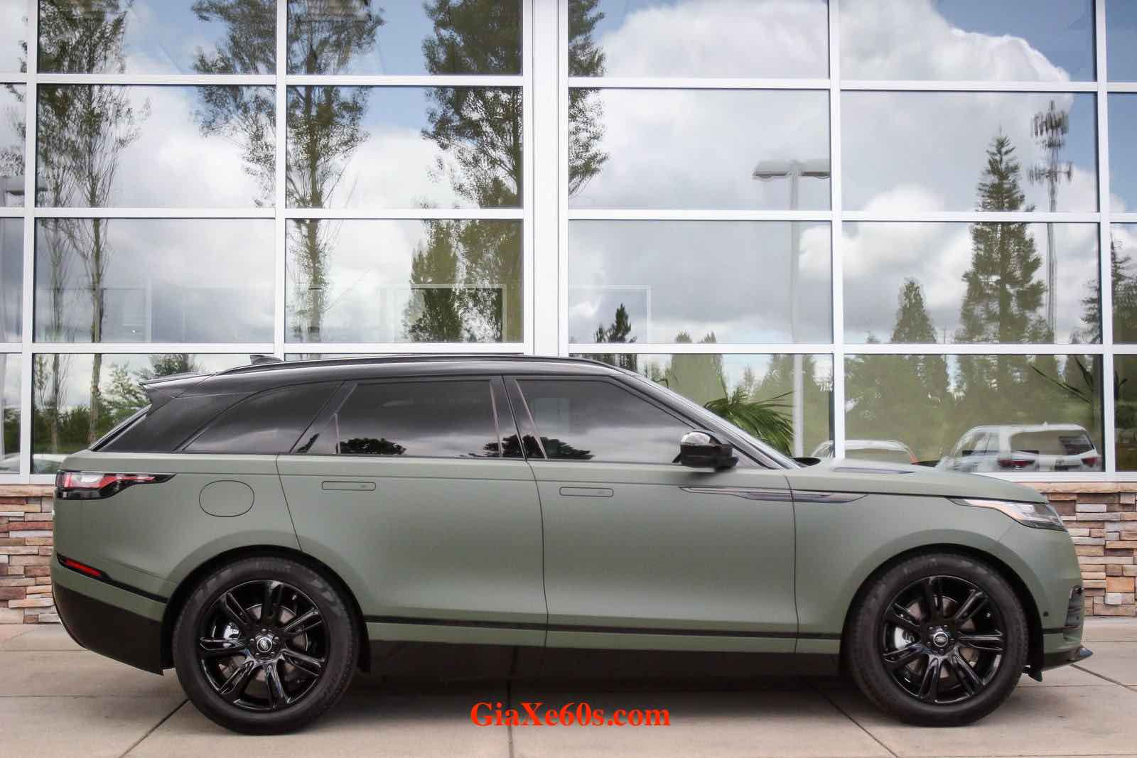 Mẫu Range Rover Của Nước Nào Sản Xuất Và Bao Nhiêu Tiền - Velar R-dynamic SE 3.0 V6 màu xám xanh
