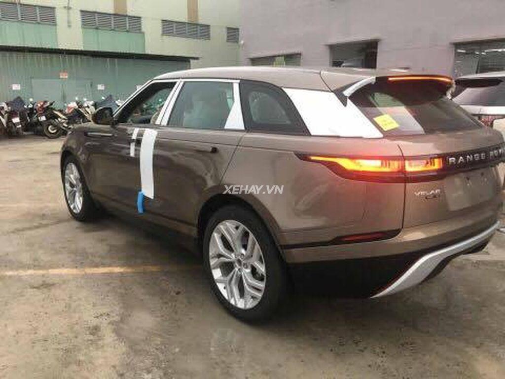 chiếc xe range rover velar về việt nam đầu tiên đang nằm ở đâu để xem có gì mới
